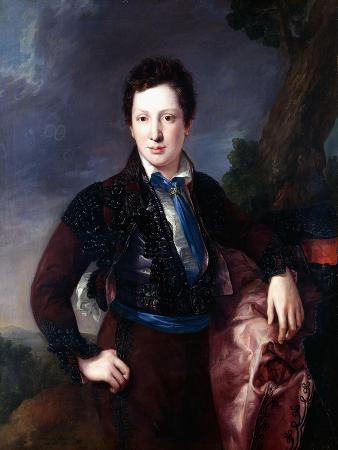 Portrait of Don Matias Edmundo Tirel Y Gomez De Las Casas