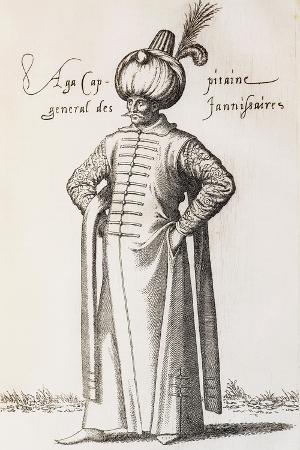 Aga, Captain General of Janissaries