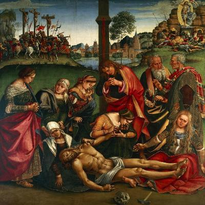 The Deposion or the Lamentation over the Dead Christ, 1502