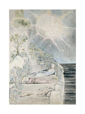 Dante and Statius Sleeping