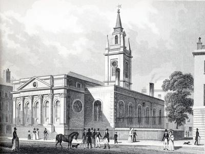 Illustration from 'London and it's Environs in the Nineteenth Century'