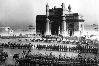 Parade of the Bombay Light Horse as the Guard of Honour for the Visit of the King of Afghanistan