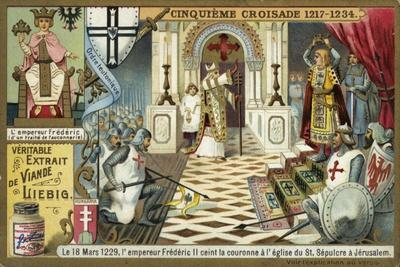 The Emperor Frederick II Takes the Crown of Jerusalem in the Church of the Holy Sepulchre