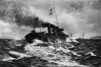 Good Steermanship the Navy's Best Defence Against Under-Water Craft