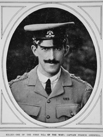 Killed - One of the First V.Cs of the War: Captain Francis Grenfell