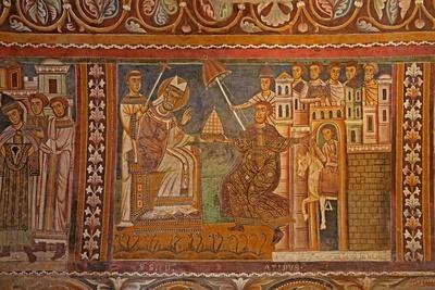 Emperor Constantine Presenting His Imperial Tiara to Pope Sylvester