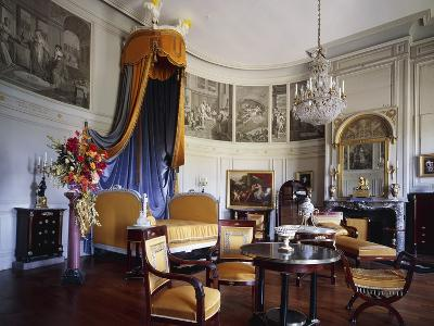 Bed in Bedchamber in Empire Style of King Ferdinand VII of Spain
