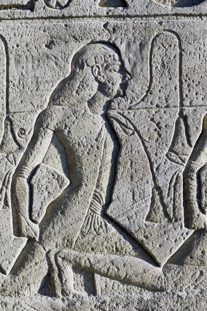 Relief Depicting Black and Asian Prisoners from Battle of Kadesh