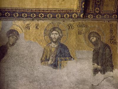 Mosaic Depicting Christ Between Virgin and Saint John Baptist