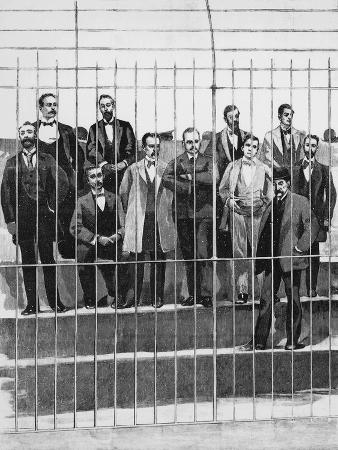 The Defendants in the Trial of Giuseppe De Felice Giuffrida