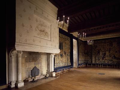 France, Chateau D'Azay-Le-Rideau, Loire Valley, Ballroom