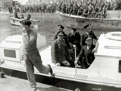 General Montgomery Has Landed in the Port of Courseulles-Sur-Mer