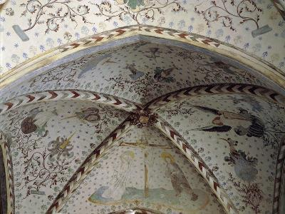 Vault with 15th Century Frescos in Christian I and Queen Dorothea's Chapel