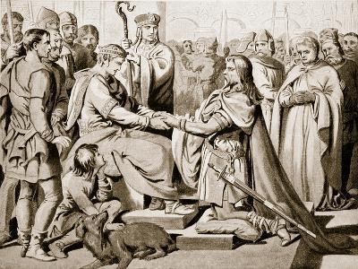 Hereward the Wake Submits to William the Conqueror