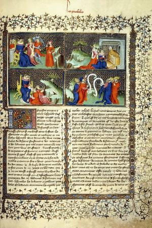 Miniature Illustrating the Judgement of the Mothers