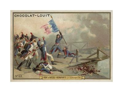 Napoleon at the Battle of the Bridge of Arcole