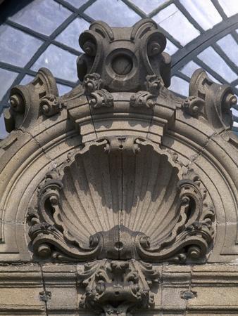 Entrance in Obradoiro Facade
