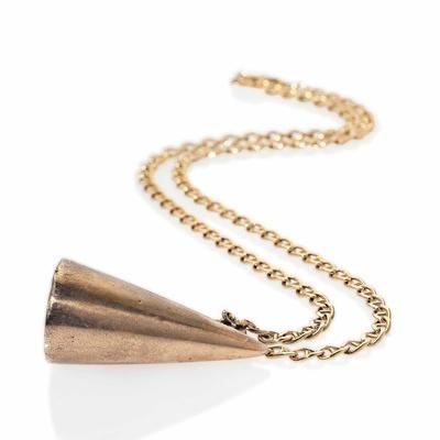 Cone Symbol Pendant Necklace