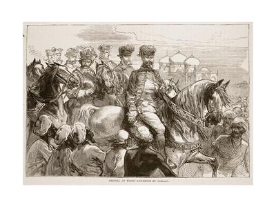 Arrival of Major Lawrence at Coilady
