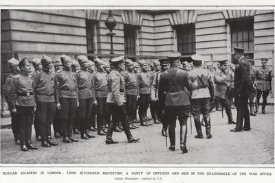 Russian Soldiers in London
