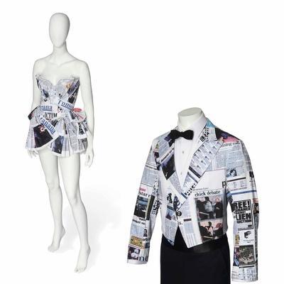 Denim Cocktail Dress and Jacket