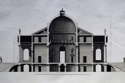 Cross-Section of Villa Almerico Capra