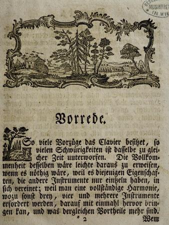 Introduction of Treaty on Harpsichord