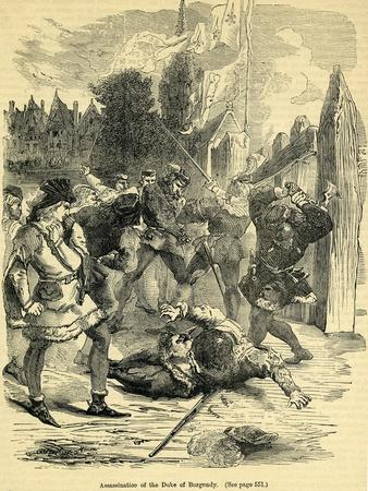 Assassination of the Duke of Burgundy