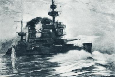 The French Battleship Gaulois