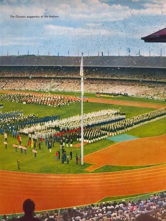 Opening Ceremony of the XVI Olympiad