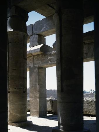 View of Festival Hall of Thutmose III, Temple of Amun, Karnak Temple Complex