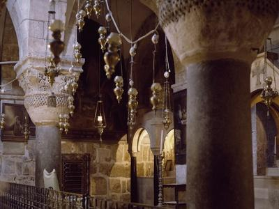 Crypt of Saint Helena, Basilica of Holy Sepulchre or Church of Resurrection, Old City of Jerusalem