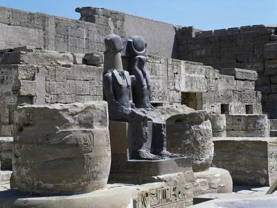 Treasure Chamber, Great Hypostyle Hall, Mortuary Temple of Ramesses III, Medinet Habu, Thebes