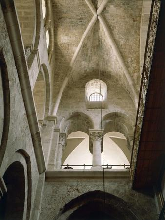 Arches of Virgin in Basilica of Holy Sepulchre or Church of Resurrection, Old City of Jerusalem