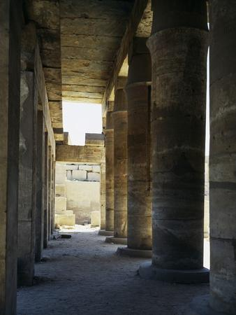 View of the Festival Hall of Thutmose Iii, Temple of Amun, Karnak Temple Complex