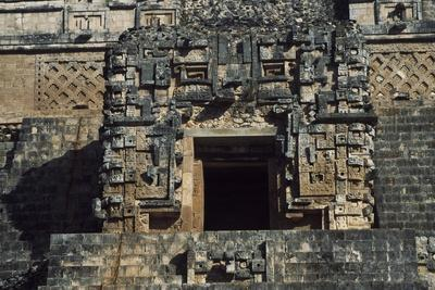 Temple on the Upper Part of the Pyramid of the Magician, Archaeological Site of Uxmal