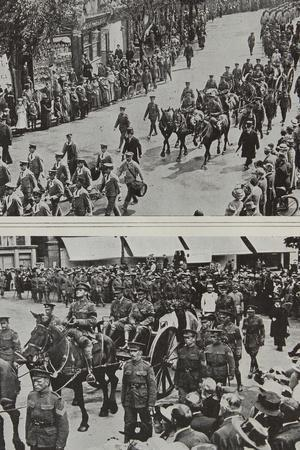 Funeral of Colonel Fitzgerald, Secretary to Lord Kitchener, Eastbourne, 1916