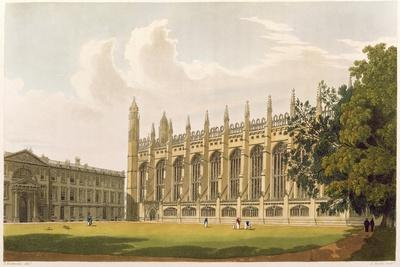 """Cambridge: King's College from """"History of Cambridge"""", Vol.1"""