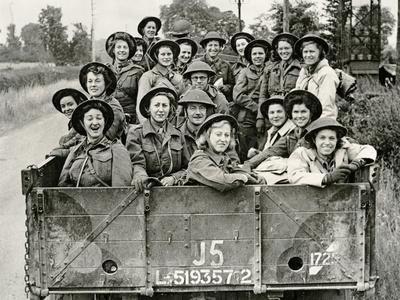 Members of Queen Alexandra's Imperial Military Nursing Service Arriving in Normandy, 1944-45
