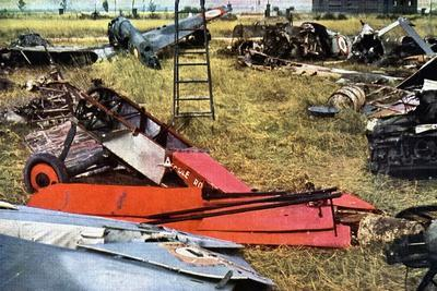 Aircraft of the French Air Force Destroyed During the Battle of France, June 1940