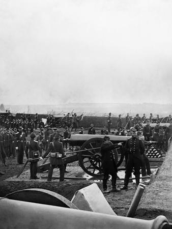 Colonel Tyler and the 1st Connecticut Heavy Artillery at Fort Richardson, Late 1861
