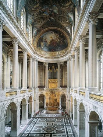 France, Palace of Versailles, Royal Chapel Dedicated to St. Louis