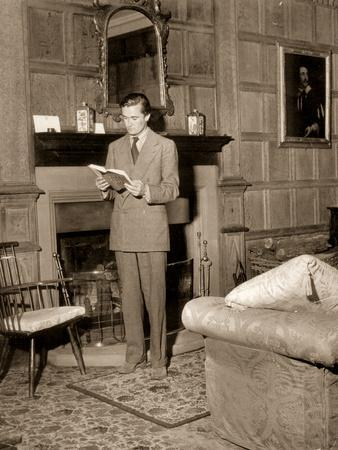 Charles Manners, 10th Duke of Rutland in the Private Drawing Room, Belvoir Castle