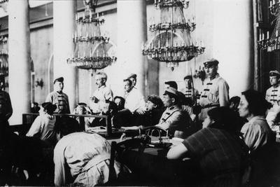 Trial of the Leaders of the Socialist-Revolutionary Party, Moscow, August 1922
