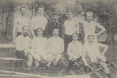 Ghent Rowing Club, Winners of the Grand Challenge Cup at the Henley Regatta, 1907