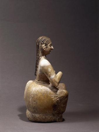 Statuette of 'Great Singer' Ur-Nanshe, Circa 2500 B.C., from Mari, Tell Hariri