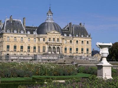 View of Chateau of Vaux-Le-Vicomte from Park, 1656-1661