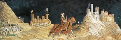 Guidoriccio Da Fogliano at Siege of Montemassi, Attributed to Simone Martini