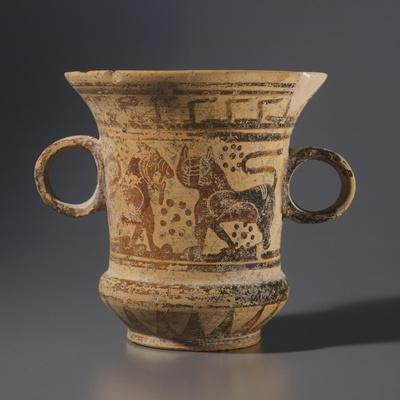 Olpe by the Painter of the Polychrome Arches. Etrusco-Corinthian Pottery from Vulci
