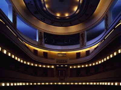 Interior View of Stage of Titano Theatre